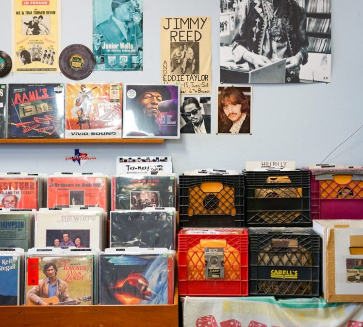 Old School Music At An Old School Store